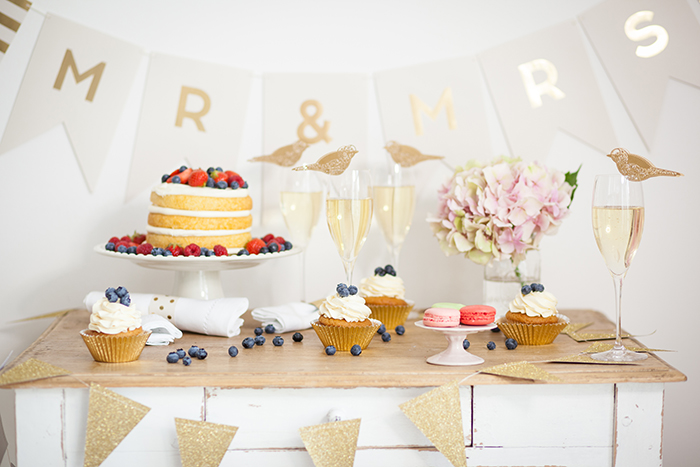 Wimpelkette Hochzeitstorte (2)