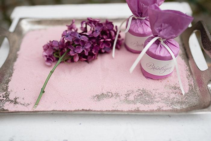 lila Hochzeitsdeko (1)