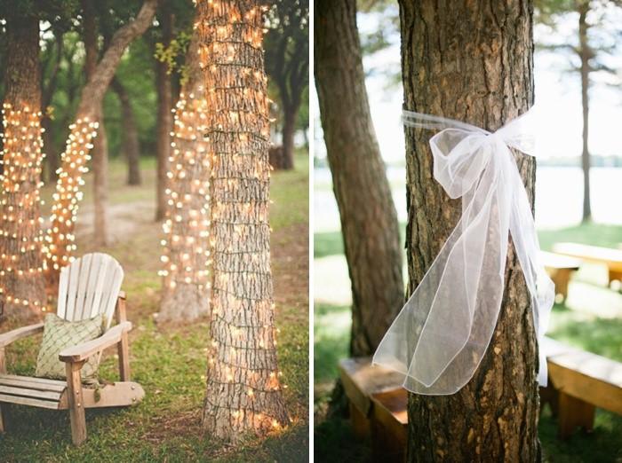 Baum dekorieren Hochzeit (6)