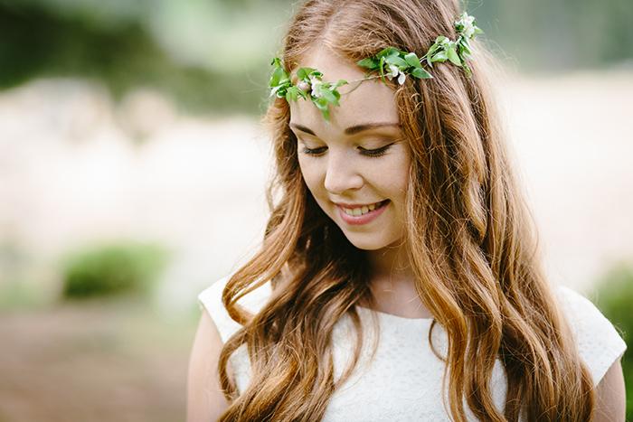 Blumenkranz gruen