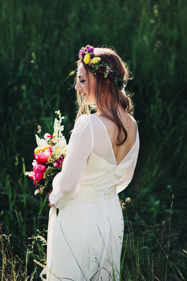Braut Hippie