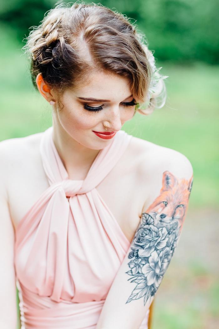 Braut mit Tattoos (1)