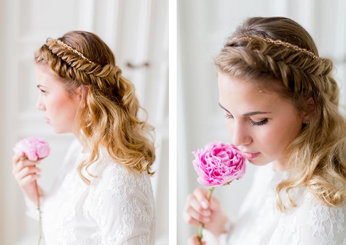 Brautfrisuren Seitlich Geflochten Modische Lange Frisuren