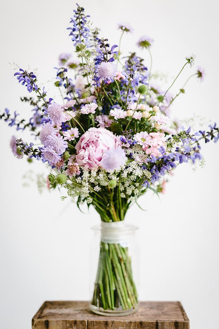 Brautstrauss lila (1)