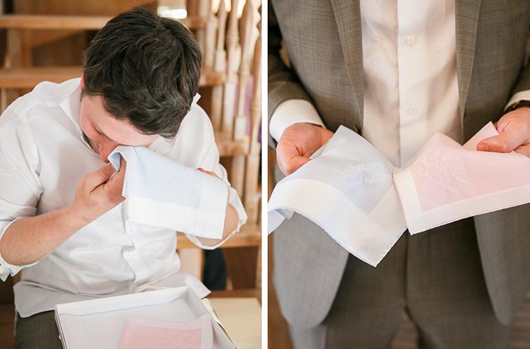 Hochzeit Taschentuch