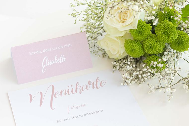 Namensschild Hochzeit rosa (4)