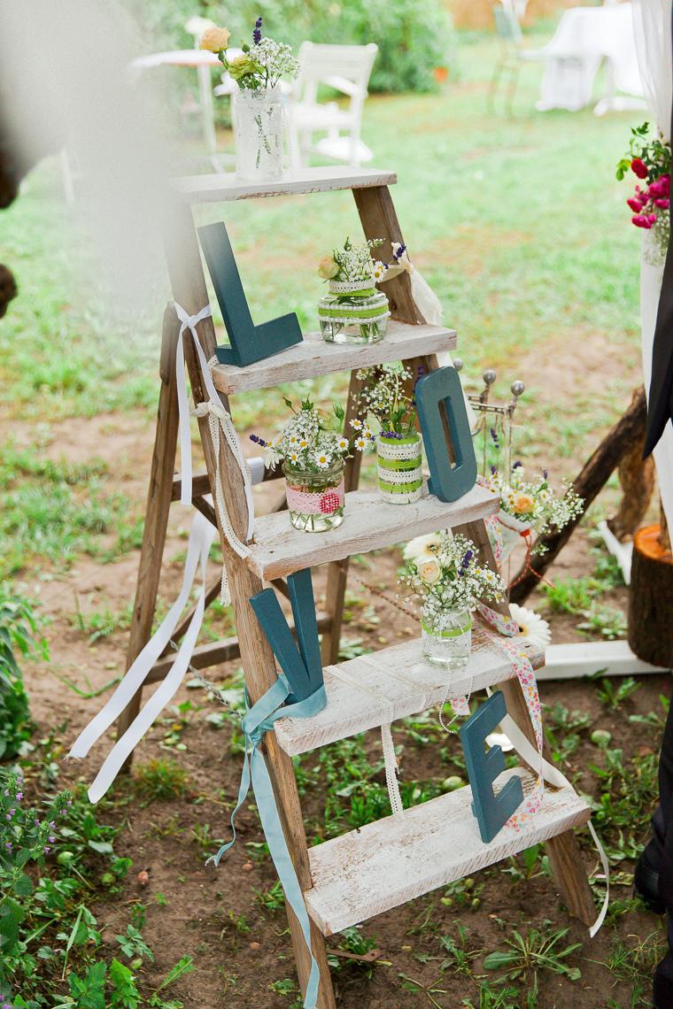 Alte Leiter Hochzeit