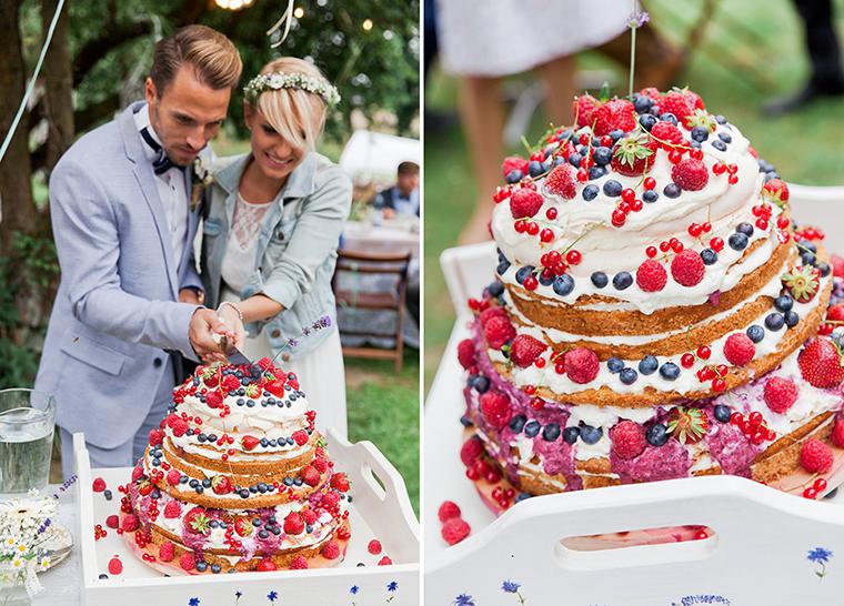 Beerentorte Hochzeit