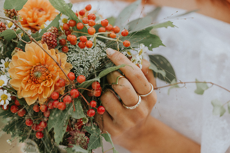 Brautstrauss Herbst