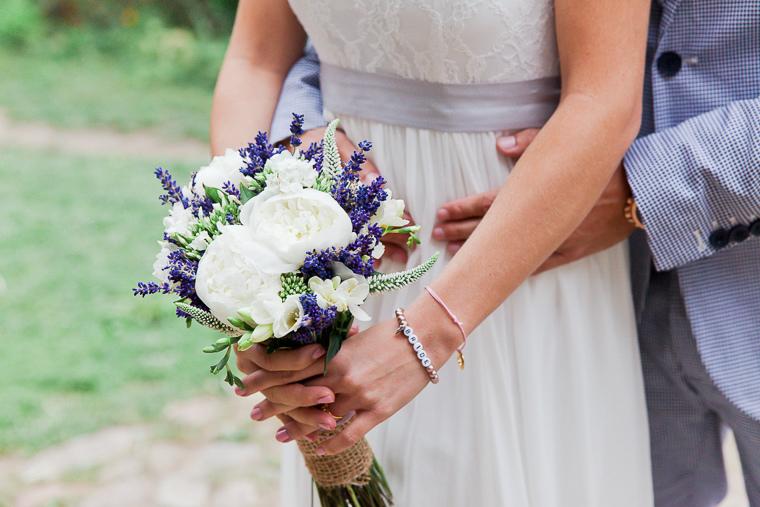 Brautstrauss Lavendel