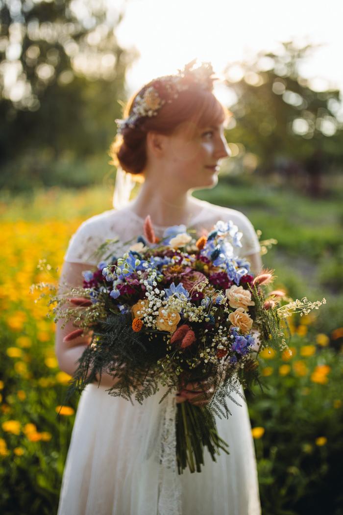 Brautstrauss Wiesenblumen (5)