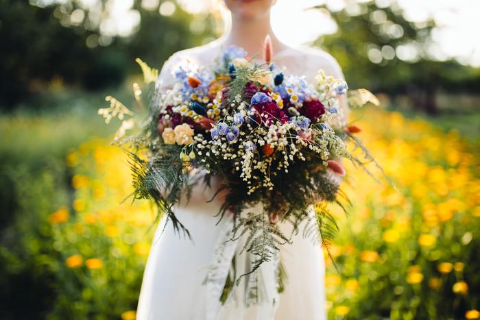 Brautstrauss Wiesenblumen (8)