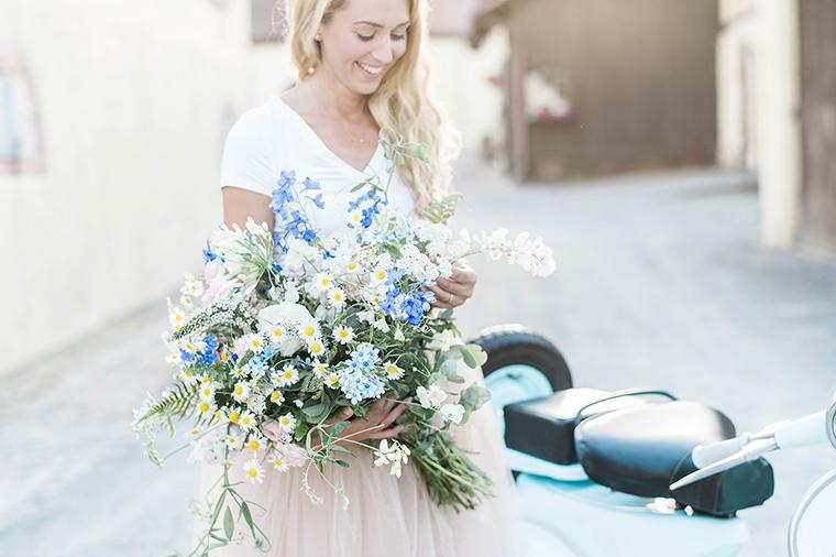 Brautstrauss Wiesenblumen