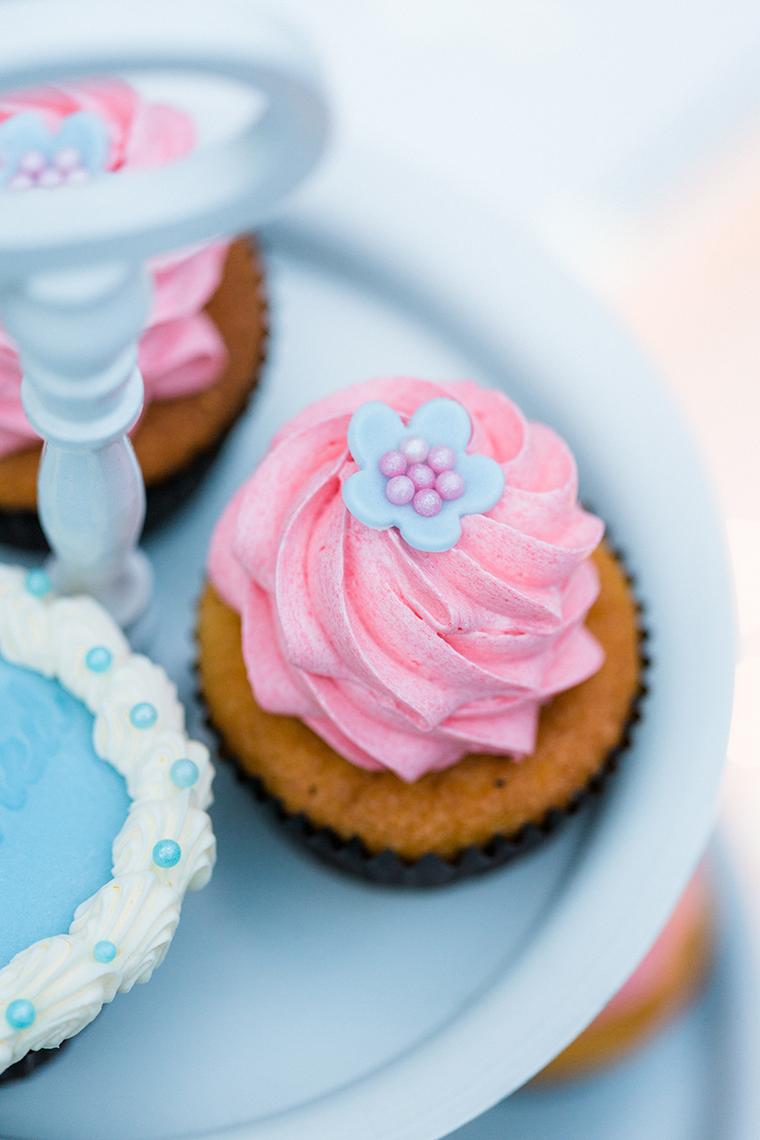 Cupcakes rosa hellblau