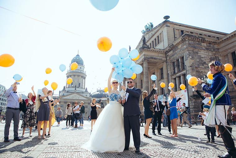 Hochzeit Berlin Gendarmenmarkt