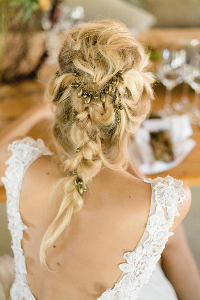 Herbst Hochzeits Inspiration für die Boho-Braut
