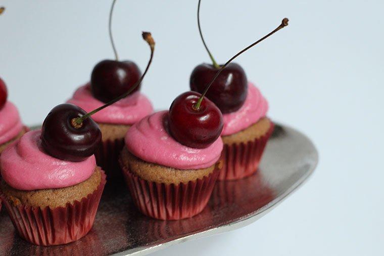 Rezept cupcakes-Kirsch