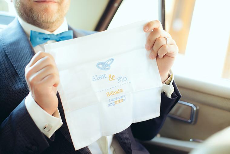 Taschentuch Hochzeit
