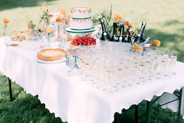 Tortentisch Hochzeit
