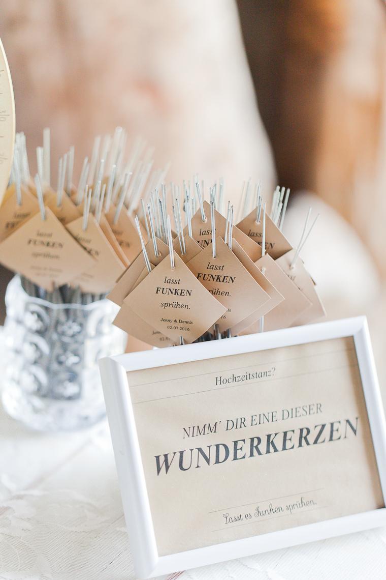 Wunderkerzen Hochzeit