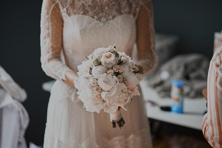 klassischer Brautstrauss