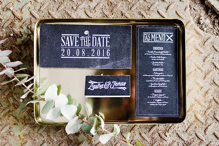 schwarze Hochzeitspapeterie (1)