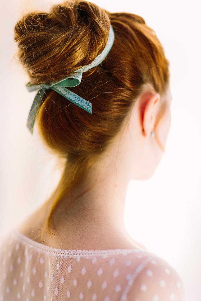 Haarknoten Braut