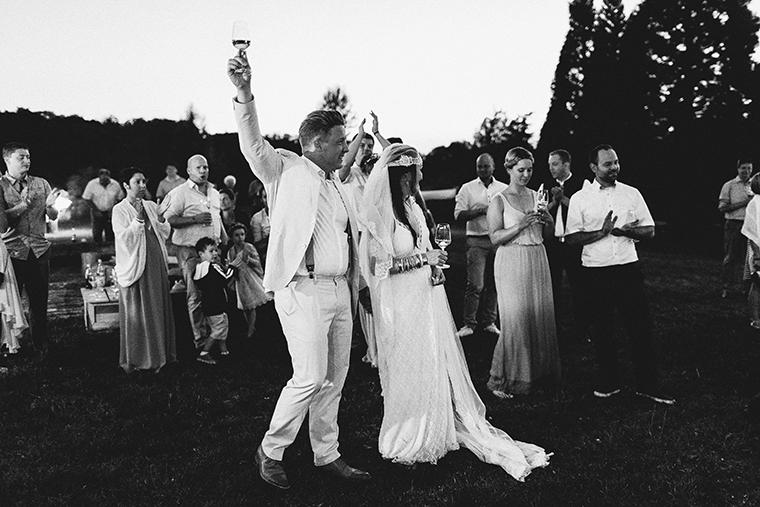 Hochzeit unter freiem Himmel (1)