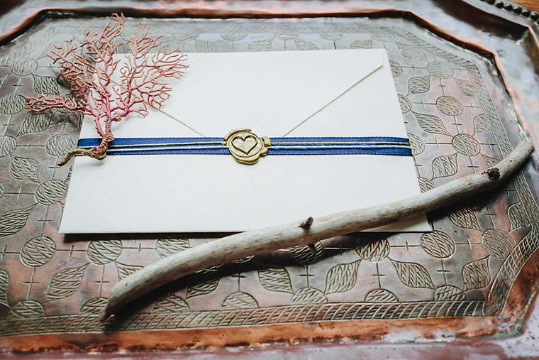 Liebesbrief mit Wachssiegel