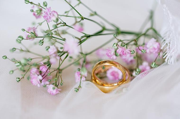 Vintagehochzeit Ringe