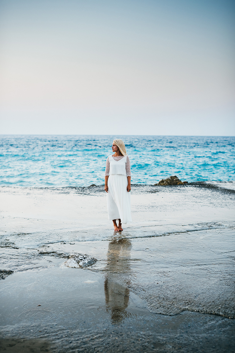 Brautmoden Inspiration aus Kreta  Friedatheres.com