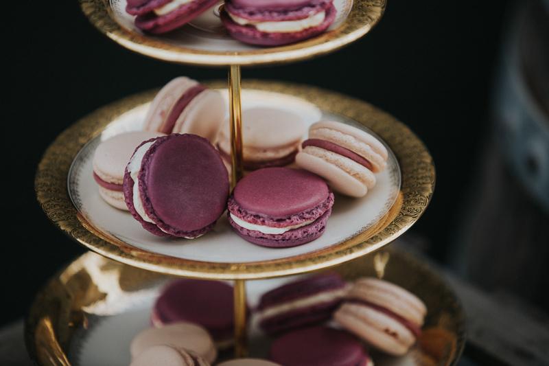 lila-macarons