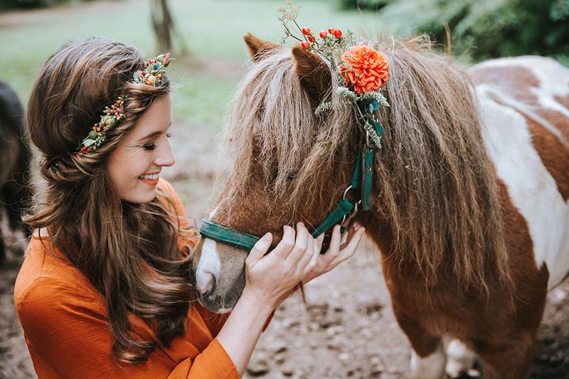 braut-mit-pferd