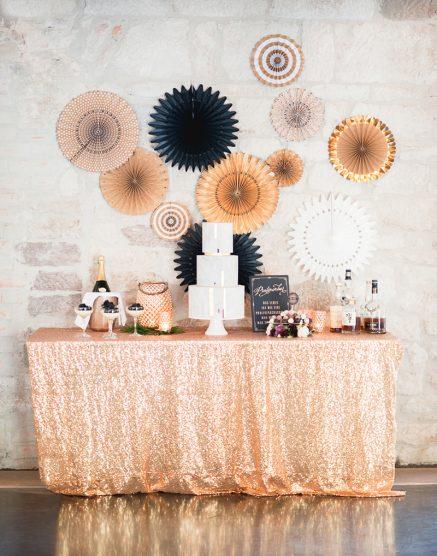 Hochzeitstorte gold
