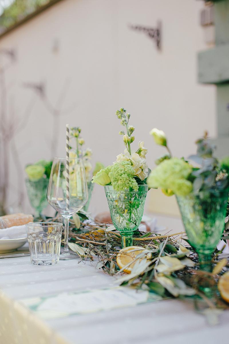 Tischdeko Grün hochzeit gelb grün friedatheres com