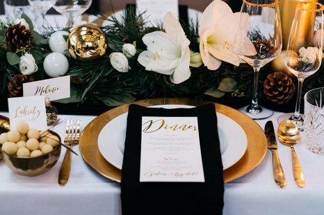 Hochzeitsdeko schwarz gold for Hochzeitsdeko gold