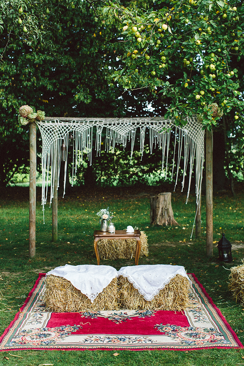Hippie Hochzeit Im Herbst