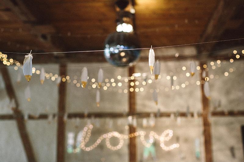 Lichterketten Hochzeit