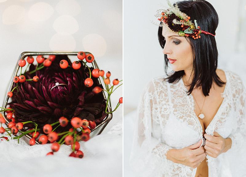 Blumenkranz Braut