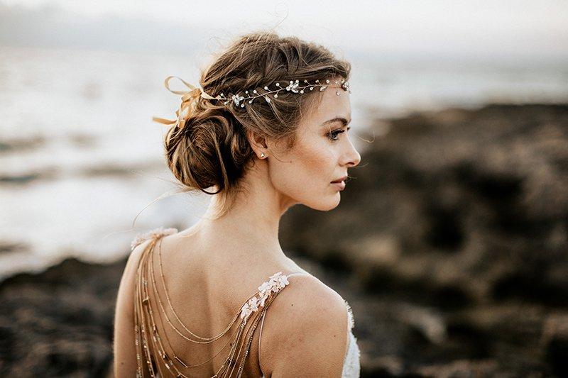 Brautfrisur Haarknoten (1)