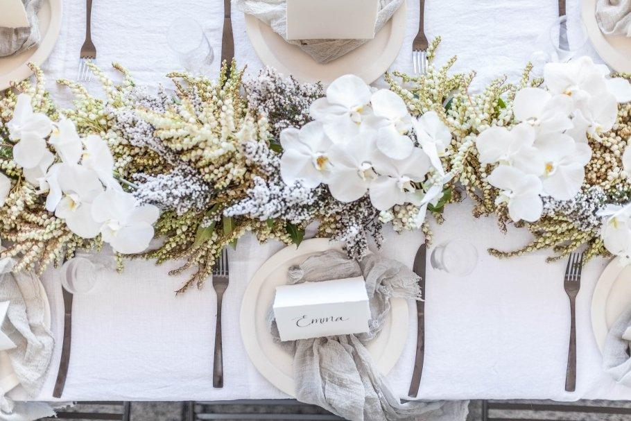 Hochzeitsdeko Mit Weissen Orchideen Friedatheres Com