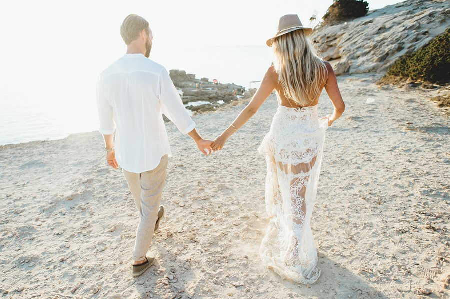 Strandhochzeit auf Formentera | Friedatheres.com