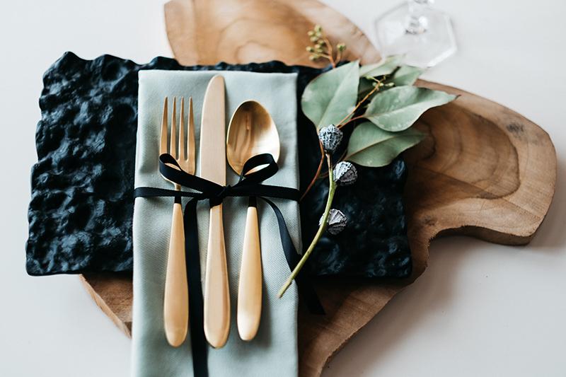 goldenes Besteck Hochzeit (2)