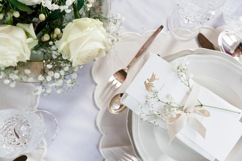 klassische Tischdeko Hochzeit (1)