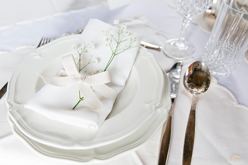 klassische Tischdeko Hochzeit (2)