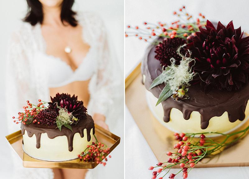 naked cake hochzeit