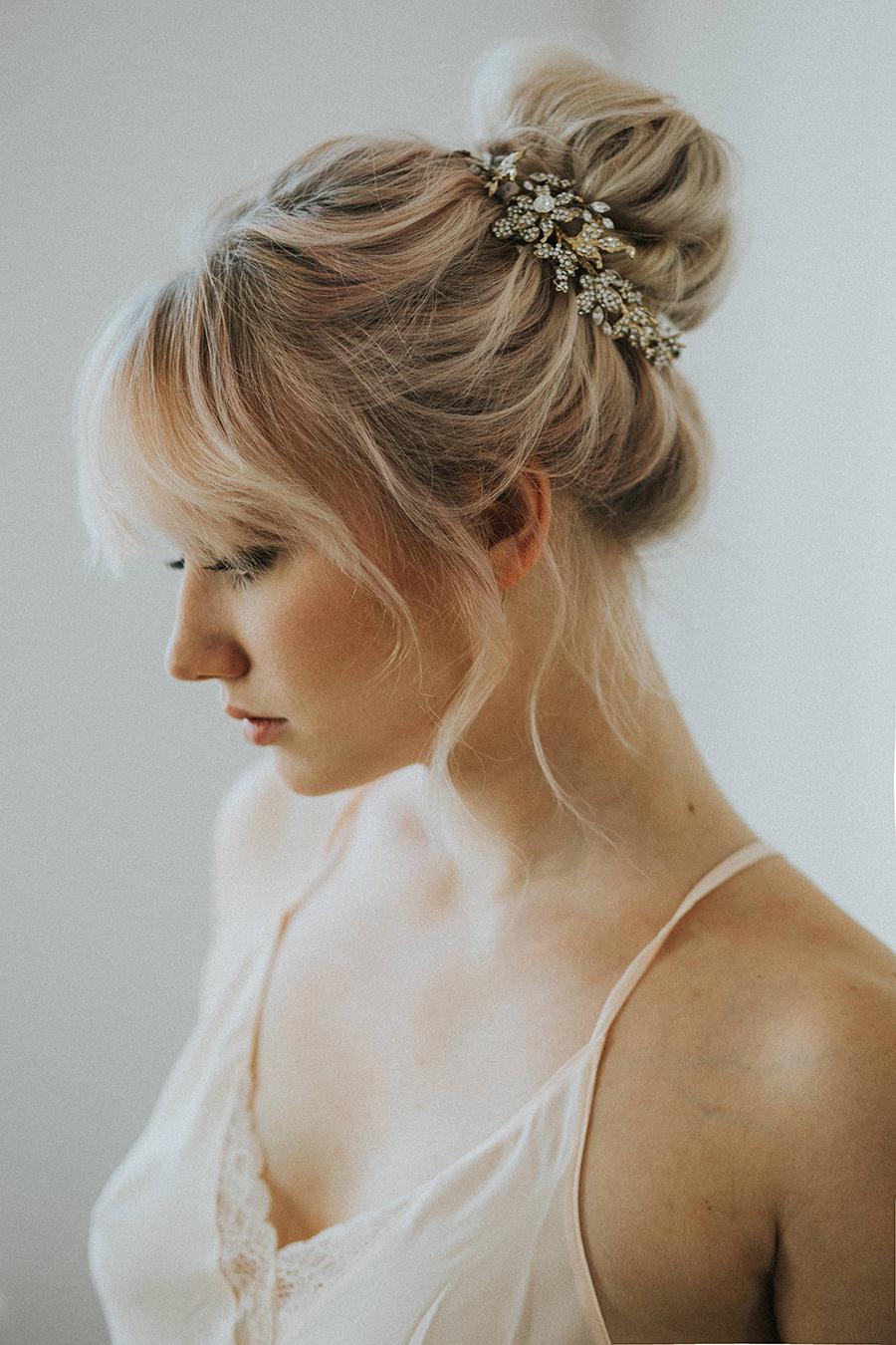 Brautfrisuren romantische hochsteckfrisur  Brautfrisuren Trends 2017 | Friedatheres.com