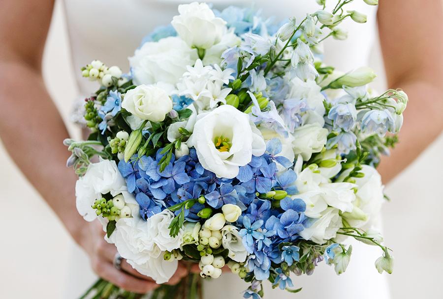 Ideen Fur Einen Brautstrauss In Blau Friedatheres Com