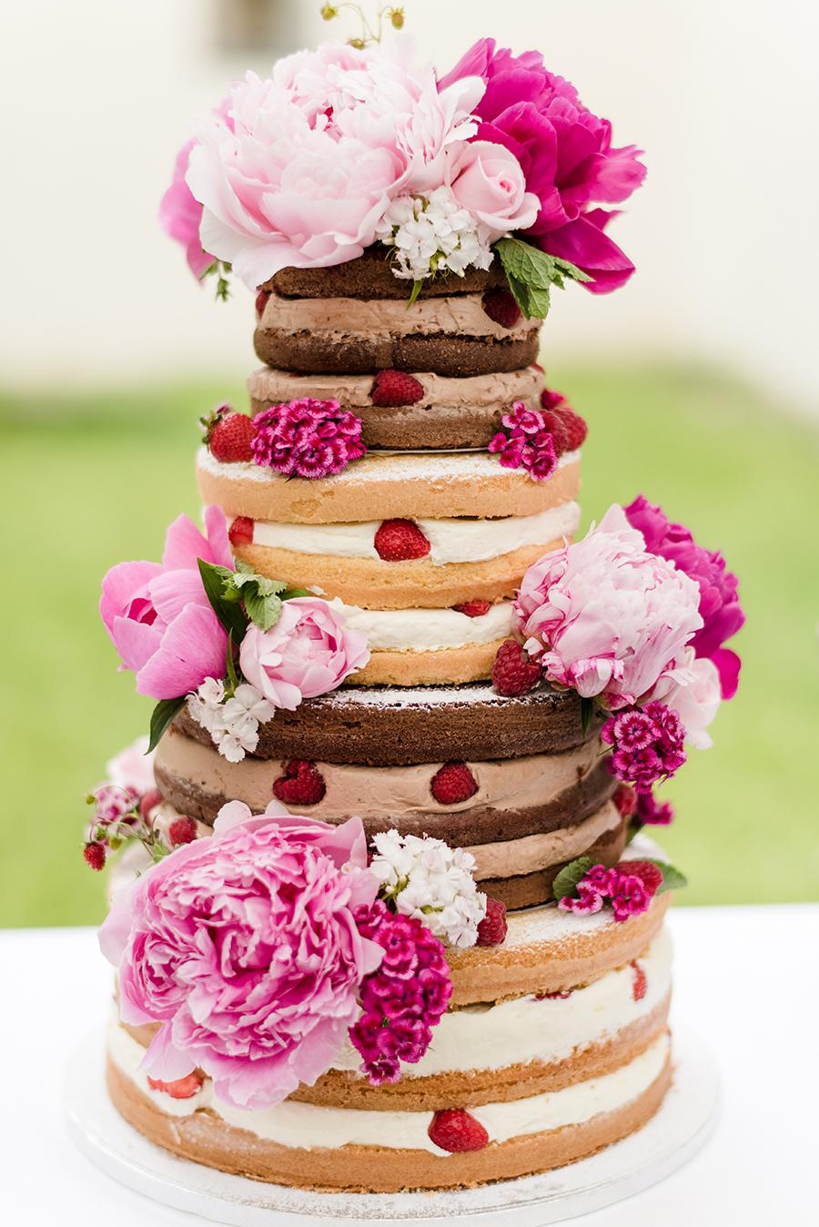 Schone Naked Cakes Fur Die Hochzeit Friedatheres Com