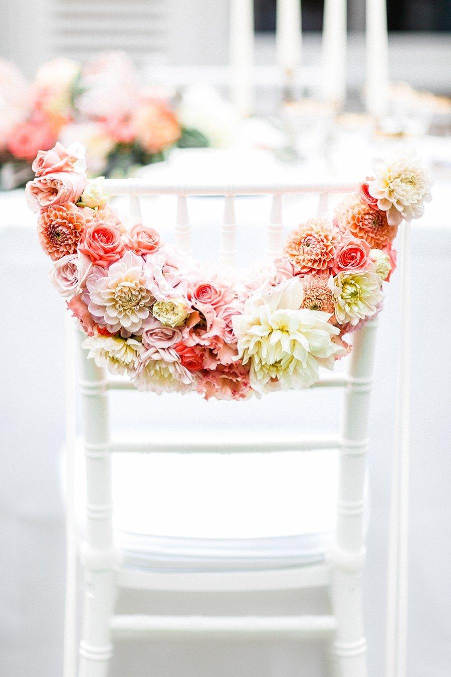 Hochzeitsdeko In Koralle Und Apricot Friedatheres Com